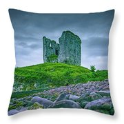 Mysterious Past #e6 Throw Pillow