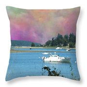Mystery Bay Throw Pillow