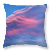 Mystery Cloud Throw Pillow