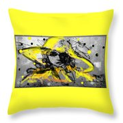 Mystery Lady  Throw Pillow