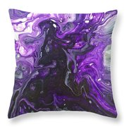 Mystery, Moodiness  Throw Pillow