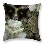 Mystery Of Nature Throw Pillow