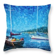 Mystery Of The Night 3  Throw Pillow
