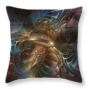 Mystery Spread Its Cloak Throw Pillow