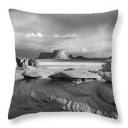 Mystery Valley Overlook Ir 0550 Throw Pillow