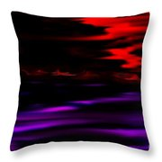Mystery World Throw Pillow