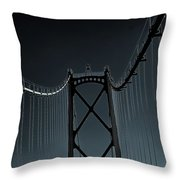 Mystic Bridge Throw Pillow