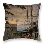 Mystic Evening Throw Pillow