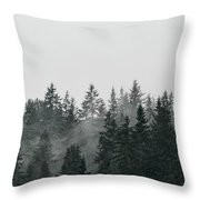 Mystic Forest II Throw Pillow