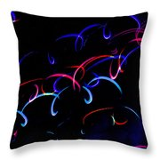 Mystic Lights 13 Throw Pillow