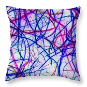 Mystic Lights 3 Throw Pillow