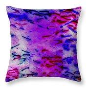 Mystic Lights 4 Throw Pillow