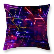 Mystic Lights 8 Throw Pillow