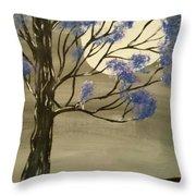Mystic Moon Throw Pillow
