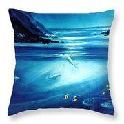 Mystic Moonlight  Throw Pillow