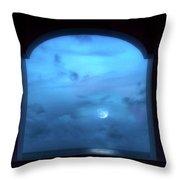 Mystic Moonrise Throw Pillow