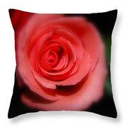 Mystic Pink Throw Pillow