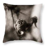 Mystic Rose Throw Pillow