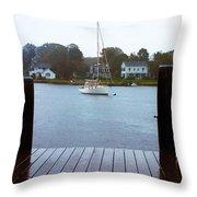Mystic Seaport #3 Throw Pillow