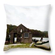 Mystic Seaport #54 Throw Pillow