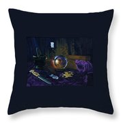 Mystic Still Life Throw Pillow