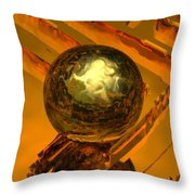 Mystic Vision Throw Pillow