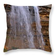 Mystic Waterfall Throw Pillow