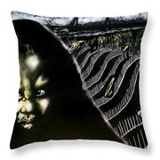Mystic Waves Throw Pillow