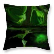 Mystic Wetlands Throw Pillow