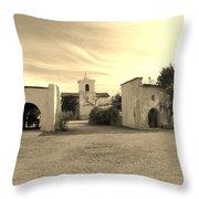 Mystical Chapel Throw Pillow