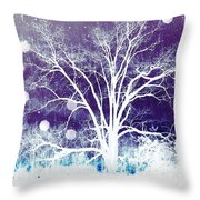 Mystical Dreamscape Throw Pillow