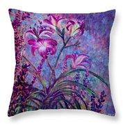 Mystical Garden Throw Pillow
