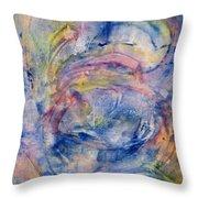 Mystical Unicorn Ride Throw Pillow