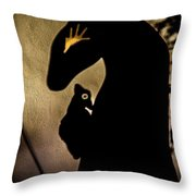 Mysticscape Eyes A10b Throw Pillow