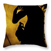 Mysticscape Eyes A10d Throw Pillow