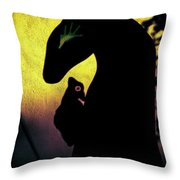 Mysticscape Eyes A10k Throw Pillow