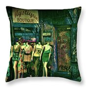 Mystique Boutique Throw Pillow