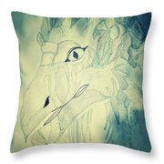 Mythical Dragon Throw Pillow