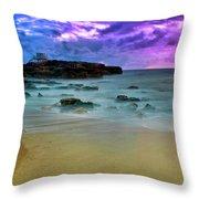 Mythical Ocean Sunset  Throw Pillow