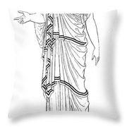 Mythology: Hera/juno Throw Pillow