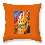 Mythology Throw Pillow