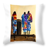 N 103 Throw Pillow