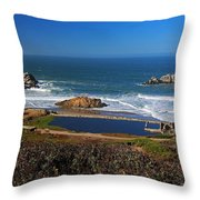 An Afternoon In San Francisco Throw Pillow