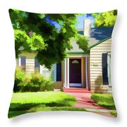 N Central 2 Throw Pillow