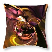 N Folds Throw Pillow