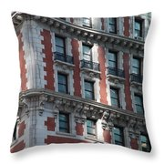 N Y C Architecture Throw Pillow