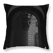 N Y C Lighted Arch Throw Pillow