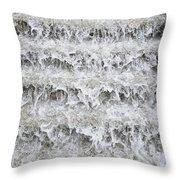 N Y C Waterfall Throw Pillow