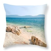 N007 New Sky Throw Pillow