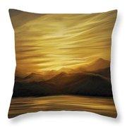 Naama Bay, Egypt Throw Pillow